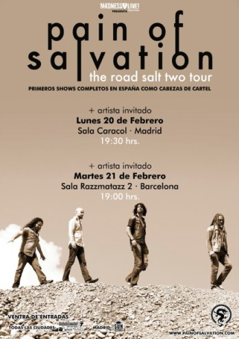 Pain of Salvation Madrid y Barcelona