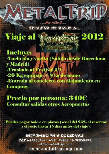 Viajes al Party San del 2012