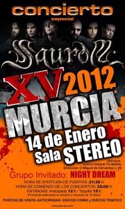 Saurom en Murcia