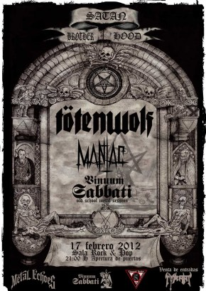 Tötenwolf en Madrid