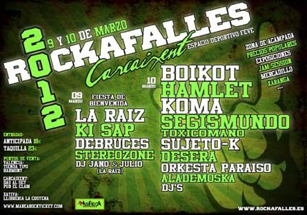 Festival Rockafalles 2012
