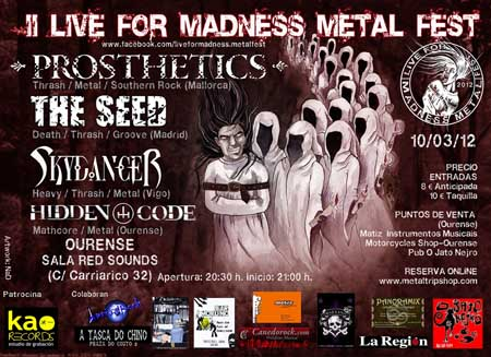 II Live For Madness Metal Fest