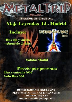 Viaje Organizado al Leyendas del Rock desde Madrid