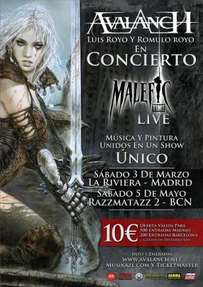 Malefic Tour: Madrid y Barcelona