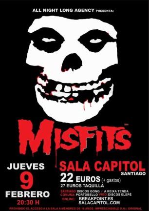 Misfits en Santiago de Compostela