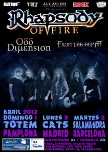 Rhapsody Of Fire 2012