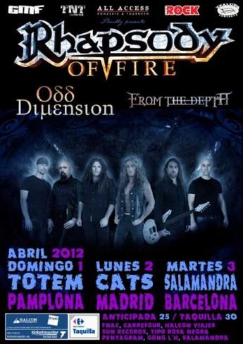 Rhapsody Of Fire 2012