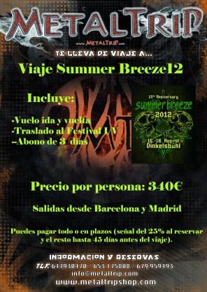 Viaje Organizado al Summer Breeze 2012