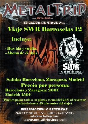 Viaje Organizado al SWR Barroselas Metalfest 2012