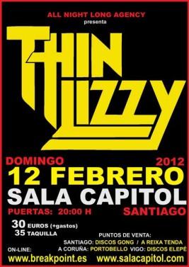 Thin Lizzy en Santiago