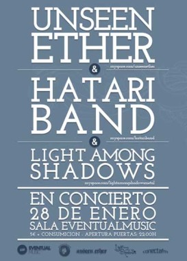 Unseen Ether en Málaga