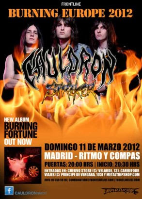 Cauldron en Madrid