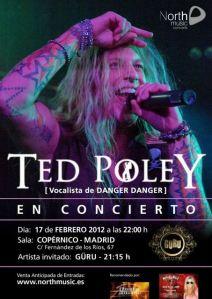 Concierto Ted Poley