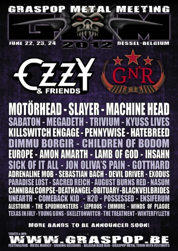 Graspop Metal Meeting 2012