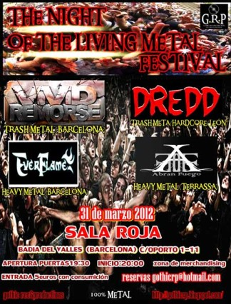 The Night of the Living Metal Festival