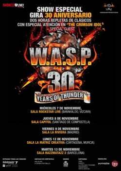 30 Years of Thunder de W.A.S.P.