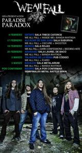 Gira de We All Fall