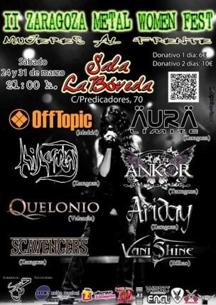II Zaragoza Metal Women Fest