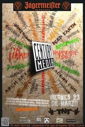 Fiesta Jagermeister y Century Media