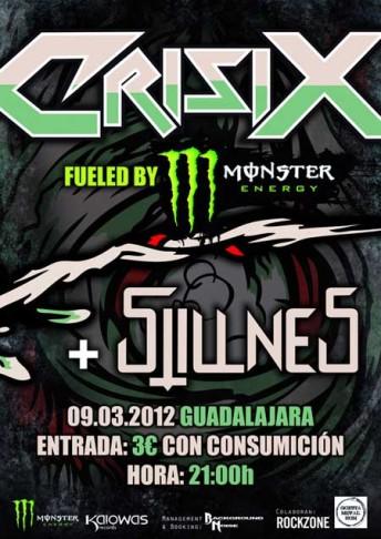 Crisix y Stillness en Guadalajara