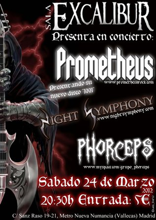 Prometheus en Madrid